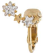 8 Other Reasons Star Crawler Ear Cuff in Metallic Gold.