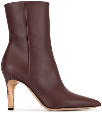 Maison Margiela Embossed Ankle Boots