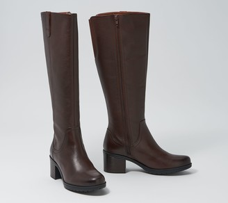 Clarks Collection Medium Calf Leather Boots - Hollis Moon