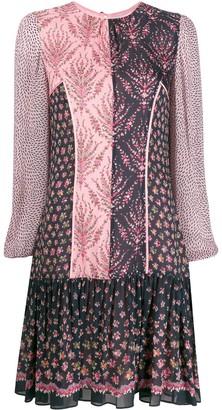 Liberty London Vita mixed-print short dress