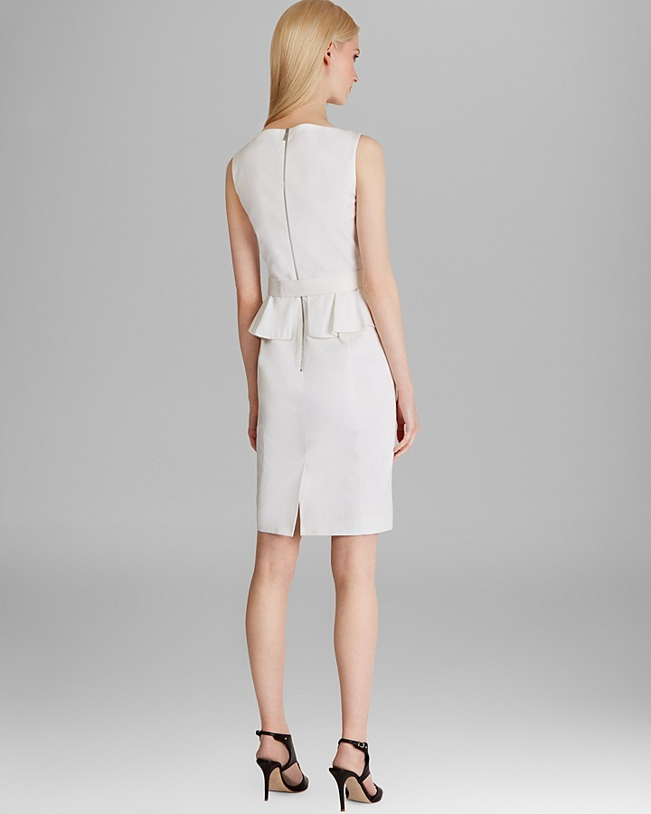 Karen Millen Cotton Dress - Signature
