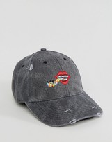 Asos x Lot Stock Cap with Embroidery