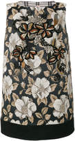 Antonio Marras bead-embellished jacquard dress