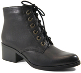 City Classified Black Petra Ankle Boot
