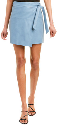 City Sleek Tie-Waist Wrap Skirt