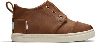Toms Toffee Microsuede Tiny Botas Cupsole Sneakers