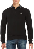 Lacoste Quarter-Zip Lightweight Sweatshirt