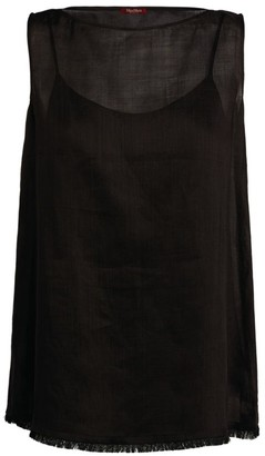 Max Mara Ramie Sleeveless Top