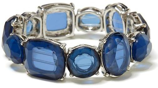 Banana Republic Faceted stone stretch bracelet
