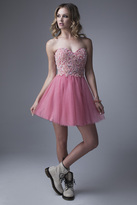 Brit Cameron - 15218 Prom Dress in Strawberry Ice