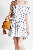 Caroline Constas Printed Cotton Dress