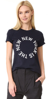 DKNY New York Logo Crew