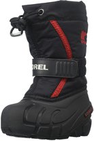 Sorel Toddler Flurry (Inf/Tod) - Black/Bright Red - 6 Toddler