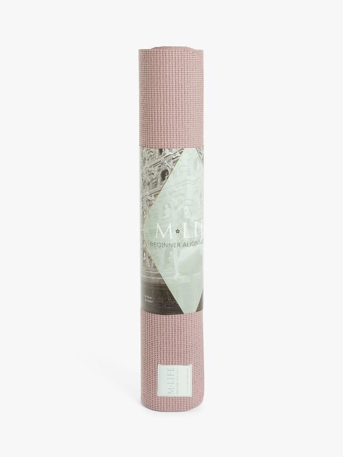 M Life Mendhi 5mm Yoga Mat, Dusk Pink