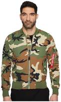 Alpha Industries L-2B Dragonfly Blood Chit Jacket Men's Coat