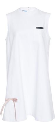 Prada Sleeveless Cotton Mini Dress