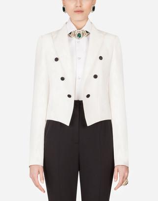 Dolce & Gabbana Moire Spencer