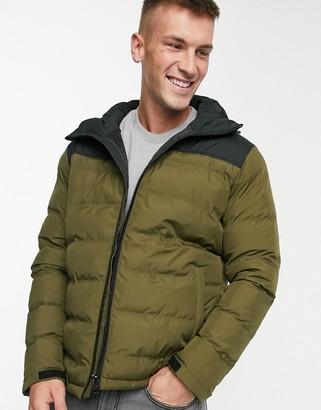 Fat Moose color block padded jacket