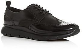 Kenneth Cole Men's Trent Leather Brogue Wingtip Sneakers