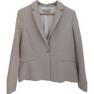 Hobbs Pink Linen Jacket for Women