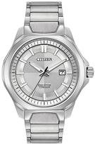 Citizen Silver Super Titanium Bracelet Watch - Men