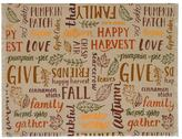 Celebrate Fall Together Fall Word Toss Placemat