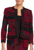 Helene Berman Edge To Edge Open Front Jacket