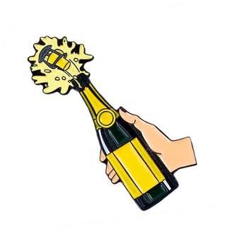 Make Heads Turn Enamel Pin Champagne Pop