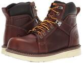 Wolverine 6 I-90 Durashocks(r) CarbonMax(r) Comp Toe Wedge (Brown) Men's Work Boots