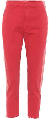 Mother The Shaker cropped trousers