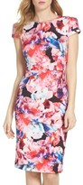 Betsey Johnson Women's Scuba Midi Dress