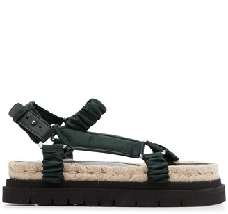 3.1 Phillip Lim Noa strappy flatform sandals