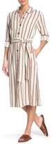 Thumbnail for your product : Velvet Heart Joselle Long Tab Sleeve Button Down Dress