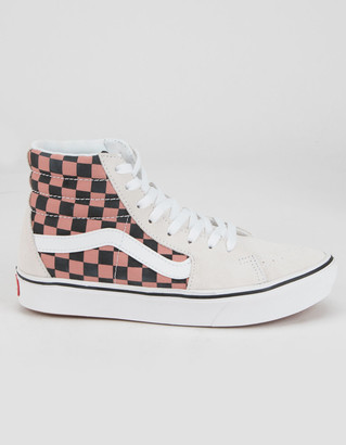 Vans Comfycush Mixed Media Sk8-Hi Womens Shoes