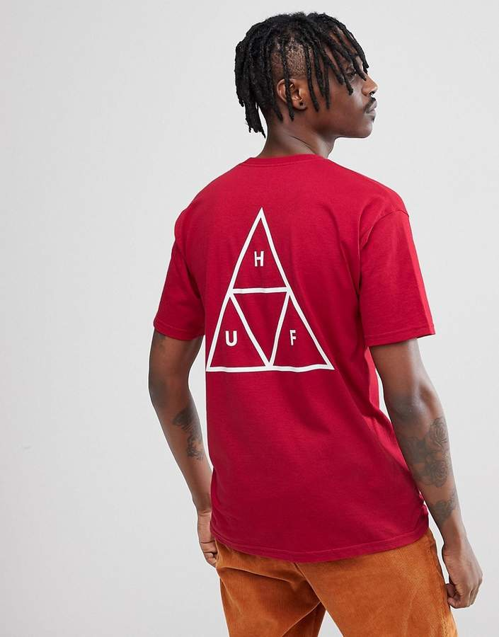 HUF Triple Triangle T-Shirt In Red
