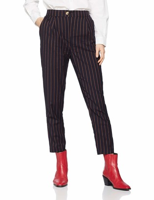 New Look Women's Pinstripe Pull On Trousers