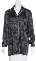 Dolce & Gabbana Bow Print Pajama Top