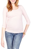 Women's Ingrid & Isabel Ruched Maternity Top