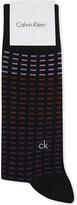 Calvin Klein Dash-print cotton-blend socks