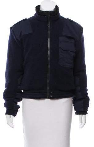 Vetements 2018 Reversible Police Bomber Jacket