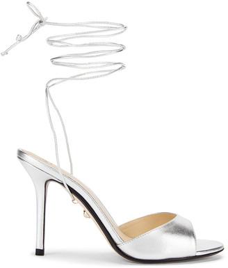 ALEVÌ Milano Lucy Sandal in Shine Silver | FWRD