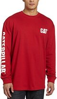 Caterpillar Men's Trademark Banner Long-Sleeve T-Shirt