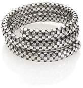 John Hardy Dot Sterling Silver Double-Coil Bracelet