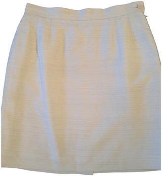 Saint Laurent Ecru Skirt for Women Vintage