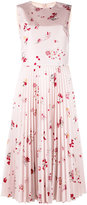 RED Valentino pleated floral dress