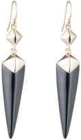 Alexis Bittar Double Pyramid Drop Earring