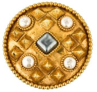 Dominique Aurientis Studded Convertible Brooch Pendant