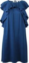 Lanvin Ruffle Top Dress