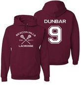 The Creating Studio Adult Teen Wolf Beacon Hills Dunbar 9 Hoodie
