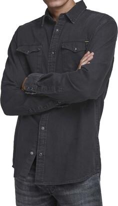 Jack and Jones Sheridan Western Slim Fit Denim Shirt